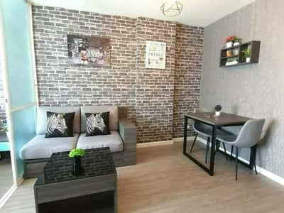 1 Bedroom Condo for Rent in Mueang Chiang Mai, Chiangmai - Let l Cha D Condo Ping Sansiri (pool view) with full furniture. 🏷Give l rent 8,000 baht per month/month, very beautiful room, next to central phase, walking to the mall a little