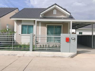 2 Bedroom Home for Rent in Hang Dong, Chiangmai - Single-storey house for rent in The Palm Garden 9 project.
