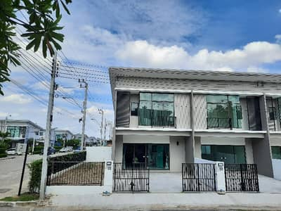 3 Bedroom Townhouse for Rent in Thawi Watthana, Bangkok - Want to rent from 2 years, Townhouse, Pruksa Ville85, Thawi Watthana, Bangkok.
