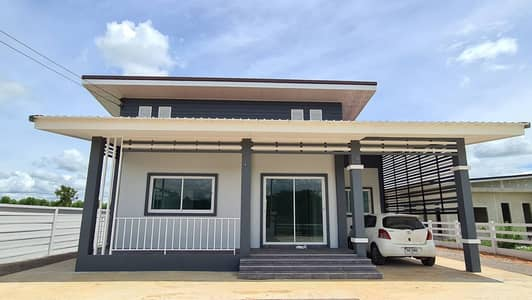 3 Bedroom Home for Sale in Chom Bueng, Ratchaburi - House and land for sale one-story cement house around the house