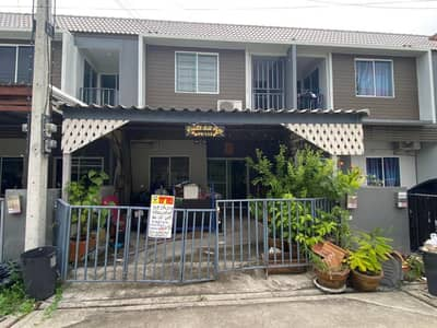 4 Bedroom Townhouse for Sale in Lam Luk Ka, Pathumthani - 2 storey townhouse for sale, The Color Village, Lam Luk Ka Klong 4.