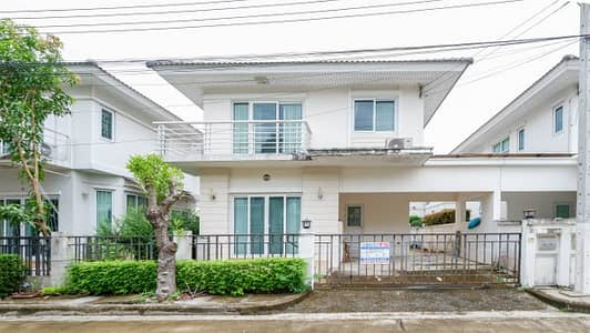 3 Bedroom Home for Sale in Bang Yai, Nonthaburi - Twin houses, Perfect Park University, Phra Non Temple, located near Kanchanaburi Ring Road and Central Westgate