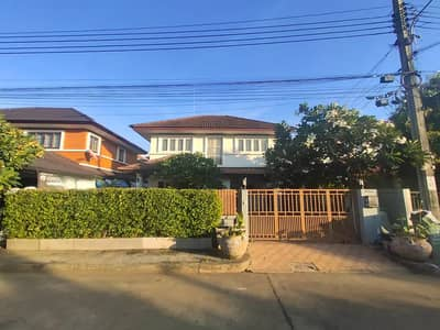 3 Bedroom Home for Rent in Nong Chok, Bangkok - House for rent, Royal Parkville Village, 60 sq m, Main Road, decorated, beautiful, ready to move in, Suwinthawong 44, Lam Phak Chi, Nong Chok