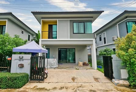 3 Bedroom Home for Sale in Mueang Pathum Thani, Pathumthani - Detached House Delight Village Don Mueang-Rangsit Road 345, near Rangsit-Pathum Thani Road, near Rangsit University, near the Red Line, Rangsit Station, Muang District, Pathum Thani
