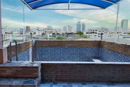 """2 Bedroom Home for Rent in Din Daeng, Bangkok - 4 flr shophouse with """"Penthouse"""" COVID Price - 920071001-8303"""