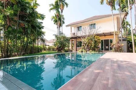 4 Bedroom Home for Rent in San Sai, Chiangmai - House for rent 4 bedrooms 3 bathrooms with swimming pool in quality Villa Chiang Mai