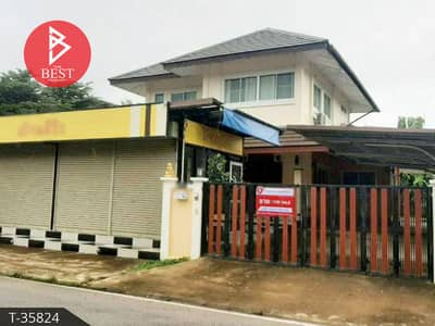 4 Bedroom Home for Sale in Mueang Lampang, Lampang - 2 storey detached house for sale, area 158.9 square wa, Pink, Lampang.