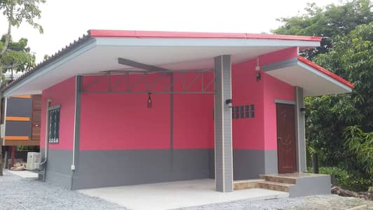 1 Bedroom Home for Rent in Mueang Suphan Buri, Suphanburi - Single storey house for rent. Modern style, Suphanburi Province