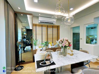 3 Bedroom Home for Sale in Prawet, Bangkok - Mantana On Nut - Ring Circle 5 This is not a model house. not editing be a real show Single house on the ring road near Mega Bangna with built-in