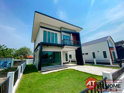 """3 Bedroom Home for Sale in Saraphi, Chiangmai - 🏡 """"Golden Location"""" 🏡 New 2-storey house, next to the city (89 Plaza, only 3 minutes!!)), Nong Phueng-Saraphi, Chiang Mai."""