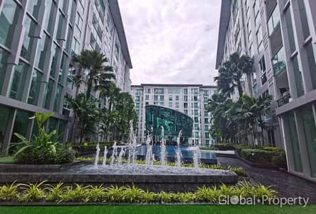 1 Bedroom Condo for Rent in Bang Lamung, Chonburi - Condo with pool view in the city