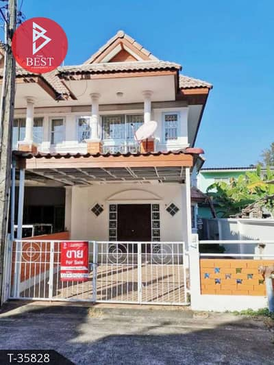3 Bedroom Townhouse for Sale in Mueang Rayong, Rayong - Townhouse for sale urgently. Rompruek Village 3, Rayong, ready to move in