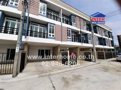 4 Bedroom Townhouse for Sale in Mueang Nonthaburi, Nonthaburi - Townhome 3 Floors 18 sq. w. Tiwanon Village Soi Pracharat 16/2 Tiwanon Road