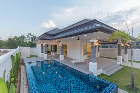 2 Bedroom Home for Sale in Hua Hin, Prachuapkhirikhan - Pool villa in Hua Hin surrounded by nature and mountain view close to the center of Hua Hin only 4 km.