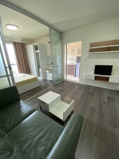 1 Bedroom Condo for Rent in Mueang Rayong, Rayong - D Condo Nakorn Rayong for rent 30 square meters 1 bedroom 1 bathroom