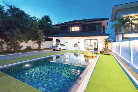 4 Bedroom Home for Rent in San Sai, Chiangmai - Luxury pool villa in Housing project near Nong Chom. New renovated house.