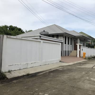 2 Bedroom Home for Sale in Nakhon Chai Si, Nakhonpathom - Suan Nakhon Chai Si Village, single storey detached house for sale, area 112 square meters, 2 rooms, 1 storage room, 1 monk room, 1 kitchen, 1 office room, 2 parking spaces