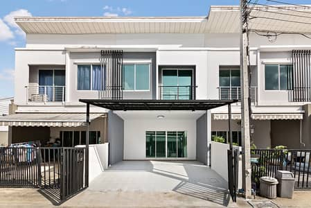 3 Bedroom Townhouse for Sale in Bang Kruai, Nonthaburi - Newly renovated second-hand house, Pleno Rama 5 - Pinklao, ready to move in, cheap price