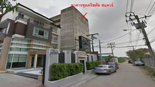 Condo for Sale in Bang Khen, Bangkok - Residential unit, no. 53/72, area 29.32 sqm. , 7th floor, Crystal Square project.