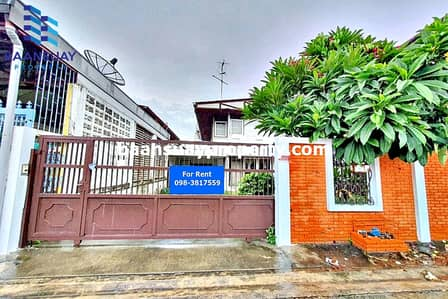 3 Bedroom Home for Rent in Suan Luang, Bangkok - For rent, 2 storey detached house, suitable for living only, Rama 9 Road, near The nine.
