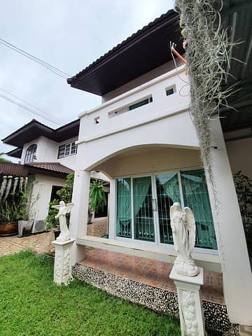 3 Bedroom Townhouse for Sale in Ban Chang, Rayong - 2 storey townhouse for sale, Rom Suk Village 7, Noen Kraprok, Ban Chang, Rayong, new renovation, ready to move in. near Robinson Ban Chang