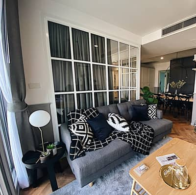 2 Bedroom Condo for Sale in Yan Nawa, Bangkok - For sale, Lumpini Place Watercliff, beautiful room, fully furnished, can carry the luggage, can move in, room size 80 sqm, room facing east, receive the wind all the time, the room is not hot, pool view