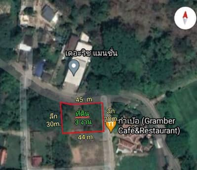 1 Bedroom Land for Sale in San Sai, Chiangmai - Beautiful land, good location, San Phi Suea Subdistrict | Suitable for doing business.