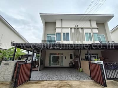 4 Bedroom Townhouse for Sale in Don Mueang, Bangkok - Twin townhomes, Casa City, Don Mueang - Sri Samarn, behind the corner, beautiful decoration, fully furnished, ready to move in