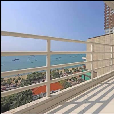 3 Bedroom Condo for Sale in Bang Lamung, Chonburi - Urgent sale, beautiful condo The total price is almost 40 million baht. The view is very beautiful.