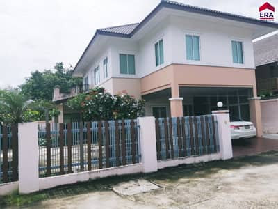 Home for Sale in Mueang Surat Thani, Suratthani - Quick sale! Detached house by the canal, Rin Thong Village, 109.9 sq. wa. , Mueang Surat Thani.
