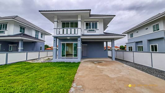 4 Bedroom Home for Sale in San Sai, Chiangmai - CK0818 Two-Storey house for sale with 4 bedrooms and 3 bathrooms, 85.7 sq. wa. Takes Only 10-15 minutes to reach the town.