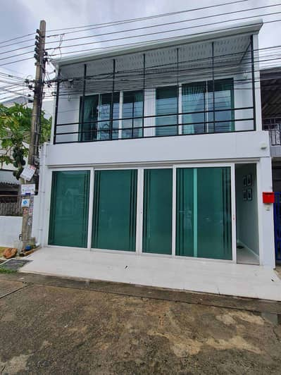 3 Bedroom Townhouse for Rent in Bueng Kum, Bangkok - Townhome for rent, 2 floors, Nawamin 67, newly renovated, ready to move in, fully furnished.