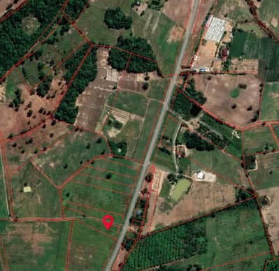 Land for Sale in Nong Mamong, Chainat - Sold at 1.7 hundred thousand per rai, next to the road in front and behind.