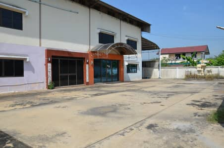 Office for Sale in Phutthamonthon, Nakhonpathom - Warehouse for sale with 3-storey office + office (accommodation) Salaya - Dao Thong Road