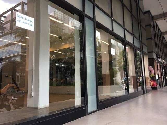 2 storey building for rent, suitable for office, office with usable space up to 241 square meters, Riviera Lake View Condo, Muang Thong Thani, Bond Street