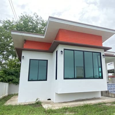 2 Bedroom Home for Sale in Takhli, Nakhonsawan - Paphatsanun Villa project, Ban Nong Sinuan, Takhli District, quiet, cool, 100 meters away from the black road, no noise.