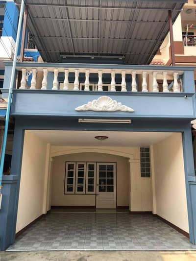 4 Bedroom Townhouse for Sale in Phasi Charoen, Bangkok - 3 storey townhouse for sale, Nisachon Village, Charan 13.