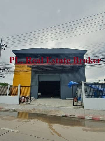 Factory for Rent in Lak Si, Bangkok - Code C4397 for rent a warehouse with office. Sukhaphiban 5 Road Near Watcharaphon Intersection, Ramintra, very close to the expressway