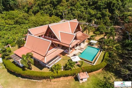 4 Bedroom Home for Rent in Thalang, Phuket - Baan Yamu   Beautiful Four Bedroom Thai Style Home on a Peaceful Yamu Property