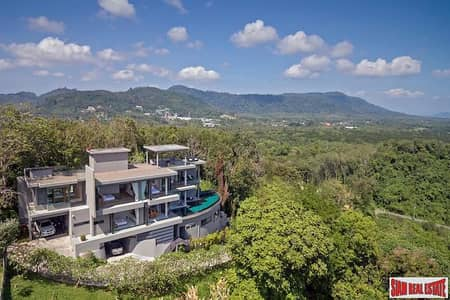 5 Bedroom Home for Rent in Thalang, Phuket - Cape Heights Villa   Modern Luxe Seaview 5-Bedroom Villa in Cape Yamu