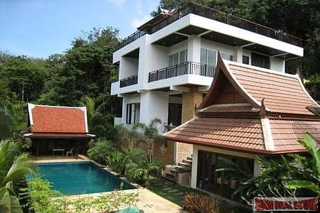 3 Bedroom Home for Sale in Thalang, Phuket - Modern Three Bedroom Pool Villa with Thai Style Guesthouse in Ao Por
