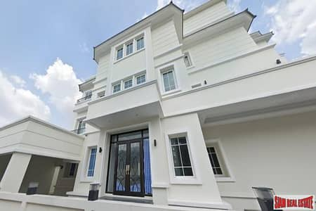5 Bedroom บ้าน ประกาศขาย ใน พญาไท, กรุงเทพมหานคร - New Modern Five Bedroom Family-Style Home with Rooftop Terrace and 4 Parking Stalls for Sale in Ari