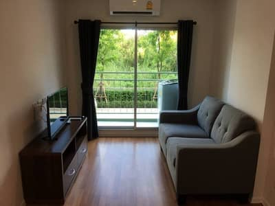1 Bedroom Condo for Rent in Bang Na, Bangkok - For rent, lumpini place, Bangna Km. 3, fully furnished, ready to move in, 26 sqm. 7000 baht