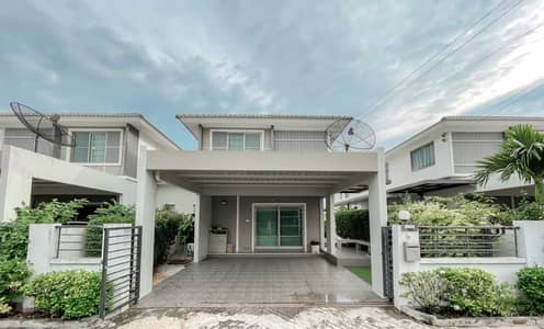 3 Bedroom Home for Sale in Mueang Chon Buri, Chonburi - Twin house for sale Life City Home 2 (Sukhumvit-Ang Sila)