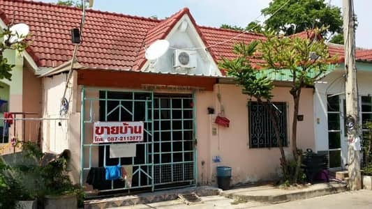2 Bedroom Townhouse for Sale in Mueang Phitsanulok, Phitsanulok - One-story townhouse, Chinlarp Village