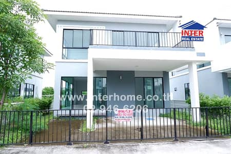4 Bedroom Home for Sale in Bang Pakong, Chachoengsao - House 2 Floors 50.3 sq. w. Compass Village Bangna-Trad Road