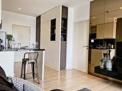 1 Bedroom Condo for Rent in Sathon, Bangkok - A01877 For rent The Seed Mingle 21,000 baht, beautiful room, fully furnished, ready to move in, beautiful view 090-969-2878