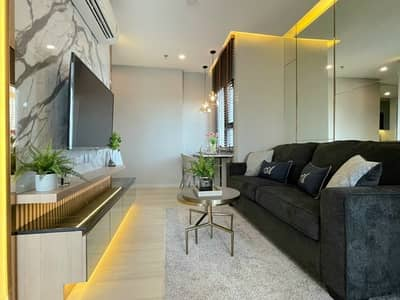 1 Bedroom Condo for Rent in Sathon, Bangkok - A01749 For rent Knightsbridge Prime Sathorn 23000 baht, beautiful, luxurious, livable, with electrical appliances