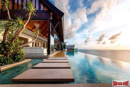 5 Bedroom Home for Sale in Thalang, Phuket - Villa Paradiso   Spectacular Five Bedroom Designer Pool Villa with Amazing Sea and Naithon Beach Views