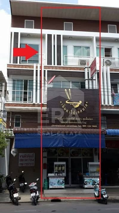 Commercial Building for Sale in Mueang Nakhon Ratchasima, Nakhonratchasima - Quick sale! Commercial building, 3.5 floors, area 19.9 sq. wa. , Mueang Nakhon Ratchasima.
